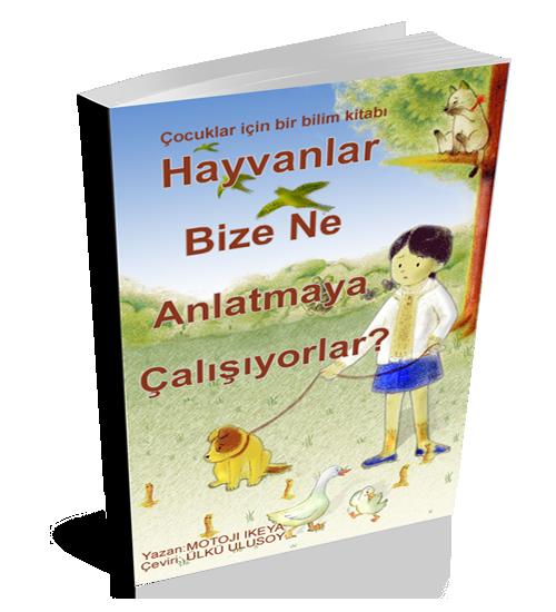 Çocuklar için bir bilim e-kitap: Deprem habercisi olaylar Japonca,  İngilizce ve Türkçe